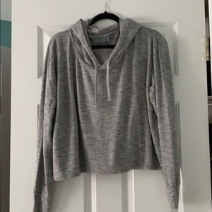 Athleta lightweight short boxy hoodie